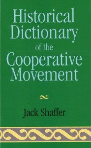 "Portada dictionari: ""Historical Dictionary of de Cooperative Movement."""